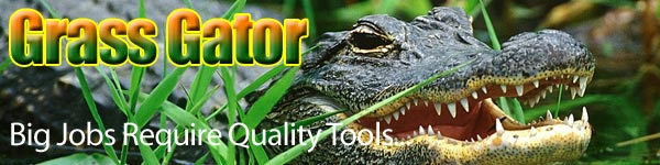 Grass Gator Turbo Scrub for Gas Weed Trimmers